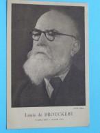 Louis De Brouckère ( 1870 -1951 ) ( Photo Alban) Anno 19?? ( Zie Foto Voor Details ) !! - Personnages