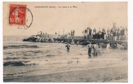 CPA - GRUISSAN (Aude) - La Jetée à La Mer - France