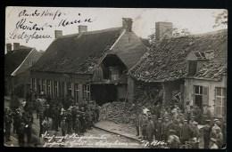 Foto AK/CP  Ledegem Englische Fliegerbombe Hat Haus Zerstört   Ungel./uncirc.  1916    Erhaltung/Cond.  2    Nr. 8442 - Ledegem