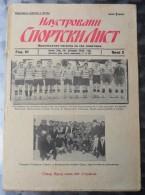ILUSTROVANI SPORTSKI LIST, NOVI SAD  BR.2, 1932  KRALJEVINA JUGOSLAVIJA, NOGOMET, FOOTBALL - Livres