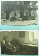 "05/167-2cpa ITALIE Années 20/30 Foto Antonelli ""IN CARNIA""  AMPEZZO (Udine) Et Fileuse 2 Cp - Italia"
