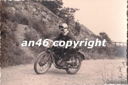 MOTO-GARA MOTOCICLISTICA-N°388-LIGURIA-TRASPORTI-FOTO D´EPOCA-FOTOGRAFIA BUONA CONSERVAZIONE- - Fotografia