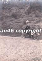 MOTO-GARA MOTOCICLISTICA-N°14-LIGURIA-TRASPORTI-FOTO D´EPOCA-FOTOGRAFIA BUONA CONSERVAZIONE- - Fotografia