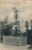 """AVIATION - Environs De VILLENEUVE SUR ALLIER - Emplacement De La Catastrophe Du Dirigeable """" RÉPUBLIQUE """" 25 Sept. 1909 - Dirigeables"""