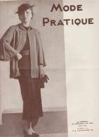 Mode Pratique - N°39 - 1935 - - Books, Magazines, Comics