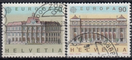 Suiza 1990 Nº 1347/48 Usado - Suiza