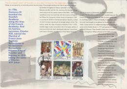 France 1994 Y&T 2866 à 2871. Document Officiel. Emission Commune Avec La Suède. Tour Eiffel, Viking - Joint Issues