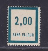 FRANCE FICTIF N°  F52 ** Timbre Neuf Gomme D´origine Sans Trace De Charnière - TB - Phantomausgaben
