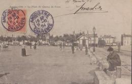 CPA:Angoulême:La Place Du Champ De Foire - Angouleme