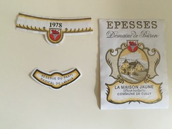 0523 - Suisse  Epesse La Maison Communde De Cully    Réserve Du Parti Radical De Lavaux 1978 - Politica (vecchia E Nuova)