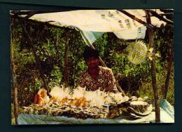 MAURITIUS  -  Sea Shells Seller  Unused Postcard - Mauritius