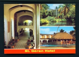 MAURITIUS  -  St Geran Hotel  Multi View  Unused Postcard - Mauritius