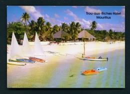 MAURITIUS  -  Trou Aux Biches Hotel  Unused Postcard - Mauritius