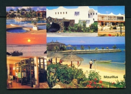 MAURITIUS  -  Mon Choisy Hotel  Multi View  Unused Postcard - Mauritius