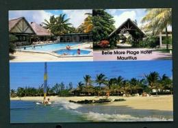 MAURITIUS  -  Belle Mare Plage Hotel  Multi View  Unused Postcard - Mauritius