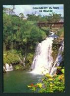 MAURITIUS  -  Riviere Du Poste Waterfall  Unused Postcard - Mauritius