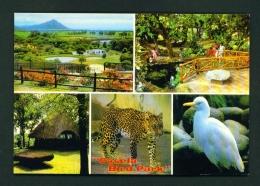 MAURITIUS  -  Casela Bird Park  Multi View  Unused Postcard - Mauritius