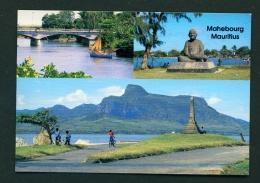 MAURITIUS  -  Mahebourg  Multi View  Unused Postcard - Mauritius