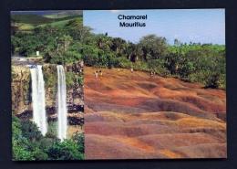 MAURITIUS  -  Chamarel  Dual View  Unused Postcard - Mauritius