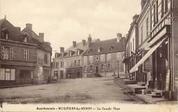 - Depts Divers -FF560- Allier - Buxieres Les Mines - La Grande Place - Magasin Casino - Magasins - Carte Bon Etat - - France