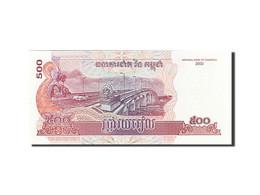 Cambodge, 500 Riels, 2001-2002, KM:54a, 2002, NEUF - Cambodia