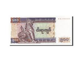 Myanmar, 500 Kyats, 1990, KM:76b, Undated (1994), NEUF - Myanmar