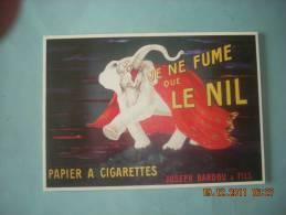 CLOUET  10614  PAPIER A CIGARETTES LE NIL   JOSEPH BARDOU   1925 - Advertising