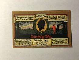 Allemagne Notgeld Schiercke 50 Pfennig 1921 NEUF - [ 3] 1918-1933 : République De Weimar