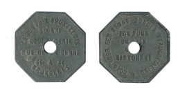 N2334 - Bruxelles: Bon Pain Bruxellois: 1 Pain Sans Ristourne - Monetary / Of Necessity