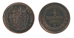 N2342 - Pie IX: 1/2 Baiocco 1851 R - Vatican
