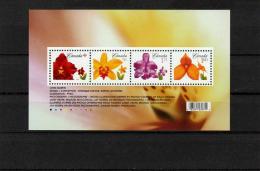 Canada-Flowers S/S- MNH (**) - 1952-.... Reinado De Elizabeth II