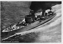 "05354 ""REGIO ESPLORATORTE MALOCELLO"" ANIMATA. CART. POST. ORIG. SPEDITA 1940. - Warships"