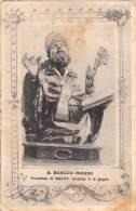 """05355 """"SALCITO (CB) - SAN BASILIO MAGNO PROTETTORE DI SALCITO VENERATO IL 14 GIUGNO """"  CART. POST. ORIG. SPEDITA 1940. - Altre Città"""
