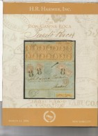 CATALOGO SUBASTA HAMMERS POSTAL HISTORY PUERTO RICO THE DON GASPAR ROCA 215 PAGS - Sellos