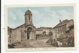 Ecouviez    Eglise Et  Ecole - France