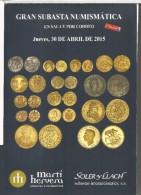 CATALOGO SUBASTA SOLER Y LLACH 30-4-2015 380 PGS - Livres & Logiciels