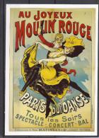"""Cp Paris, Cabaret """"le Moulin Rouge"""", écuyères, Paris Qui Danse, Style Affiche - Bar, Alberghi, Ristoranti"""