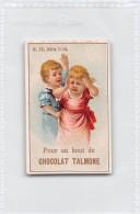 """04217 """"POUR UN BOUT DE CHOCOLAT TALMONE""""  ANIMATO BAMBINI,  FIGURINA ORIGINALE NR. 12 SERIE 1-14 - Cioccolato"""