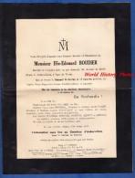 Faire-Part De Décés - AUBERVILLERS - Monsieur Elie Edouard BOUDIER Décédé Le 5 Juillet 1933 - Décès