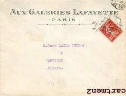 PARIS AUX GALERIES LAFAYETTE GRANDS MAGASINS PARISIENS 75 - Non Classés