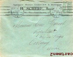 PARIS ANCIENNE MAISON GARNIER § SCHERF 19 RUE SAINT-SEVERIN 75005 - Arrondissement: 05