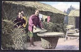 CHINA - CHINE -  CLEANING RICE - Chine
