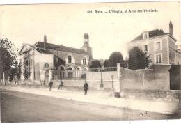 CPA Blois Hôpital Et Asile Des Vieillards 41 Loir Et Cher - Blois