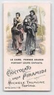 """04221 """"CIOCCOLATO DELLE PIRAMIDI-MICHELE TALMONE-TORINO""""  ANIMATO, FIGURINA ORIGINALE NR. 13 SERIE 1-30 - Cioccolato"""