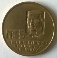 "5 Nouveaux Pesos 1975 -  ""Libertad O Muerte"" - Uruguay - - Uruguay"