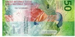 Switzerland P.new 50 Franken 2016 Unc - Suiza