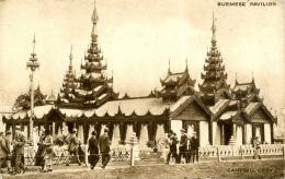 1924 BRITISH EMPIRE EXHIBITION - BURMESE PAVILION - Exhibitions