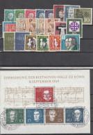 Germania Federale - 1959 - Annata Completa (usati)   Complete Year Set - BRD