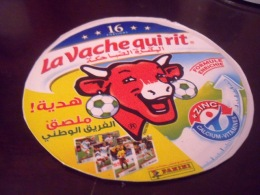 Etiquette De Boite De Fromage  La Vache Qui Rit-Equipe Nationale Algerienne-Coupe Du Monde. - Cheese