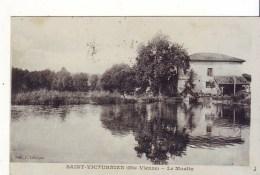 Cpa   St Victurnien  Le Moulin - Otros Municipios